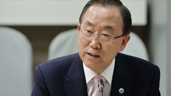 UN Secretary-General Ban Ki-moon on Wednesday welcomed the upcoming destruction of the remaining 12 chemical weapons production facilities (CWPFs) in Syria. - Sputnik International