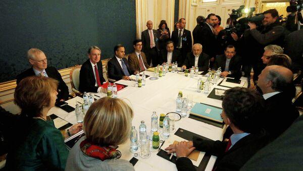 Nuclear talks with Iran in Vienna, Austria, Friday, Nov. 21, 2014 - Sputnik International