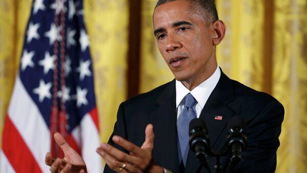US President Barack Obama urged Congress to approve his request for $6.2 billion in emergency funding for Ebola. - Sputnik International