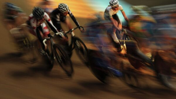 A team points race during the Junior Track Cycling World Championships - Sputnik International