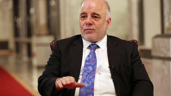 Iraq's Prime Minister Haider al-Abadi - Sputnik International