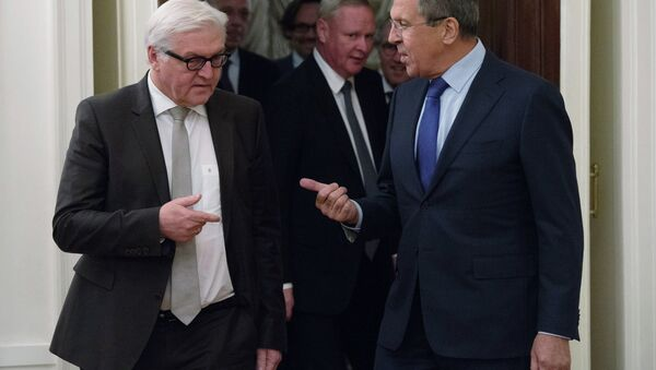 German Foreign Minister Frank-Walter Steinmeier called for the earliest possible convening of a new round of negotiations of the contact group on Ukraine, in Sunday statement. - Sputnik International