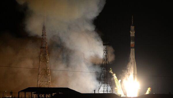 Soyuz TMA-15M spacecraft was launched from Baikonur Cosmodrome's Site 31 - Sputnik International