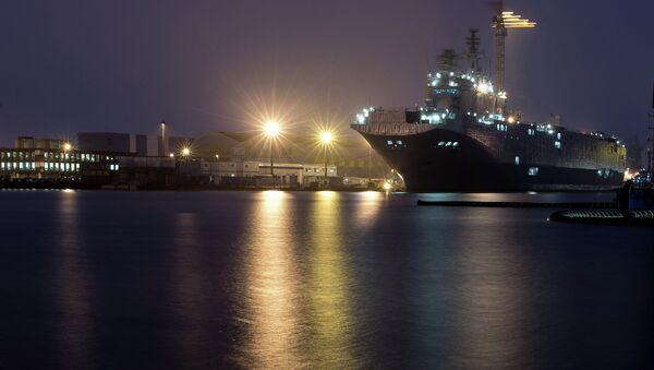 The STX Europe shipyard in Saint-Nazaire - Sputnik International