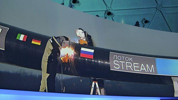 South Stream pipeline - Sputnik International