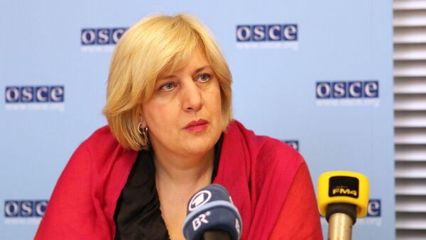 OSCE Representative on Freedom of the Media Dunja Mijatovic - Sputnik International