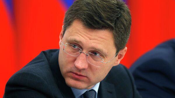 Russian Energy Minister Alexander Novak - Sputnik International