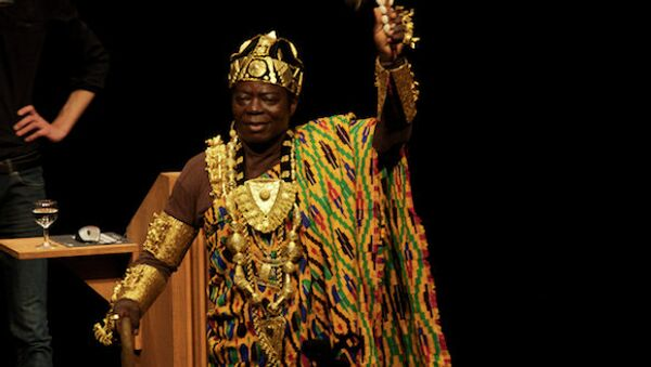Céphas Bansah, King of the Ghanaian Gbi tribe in Ghana who rules over his people remotely from Germany, has had his royal jewels stolen from him. - Sputnik International