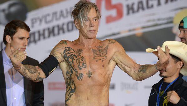US actor and boxer Mickey Rourke - Sputnik International