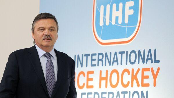 IIHF President Fasel to run for 2016 IIHF elections - Sputnik International