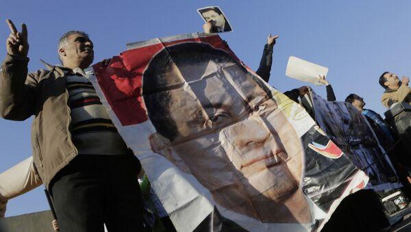 Supporters of former Egyptian President Hosni Mubarak - Sputnik International
