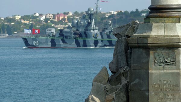 Rehearsing for Navy Day parade in Sevastopol - Sputnik International