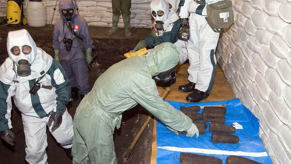 Chemical weapons experts - Sputnik International