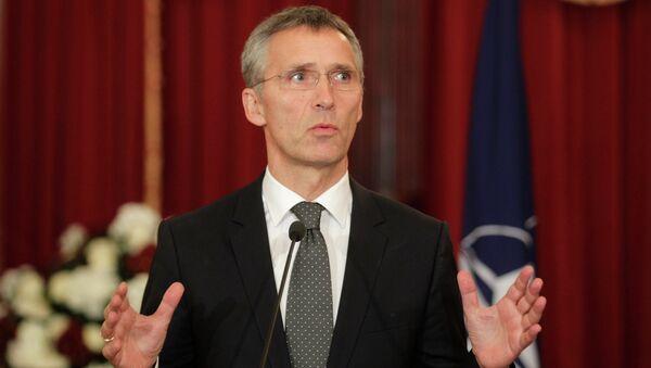 NATO Secretary General Jens Stoltenberg - Sputnik International