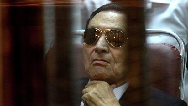 Egyptian President Hosni Mubarak - Sputnik International