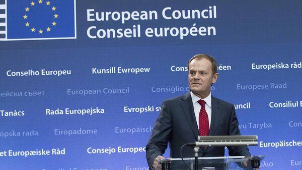 On Monday Donald Tusk took over the European Council presidency from Herman Van Rompuy. - Sputnik International