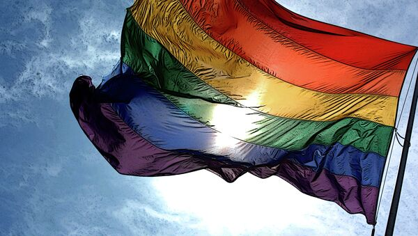 Gay pride flag - Sputnik International