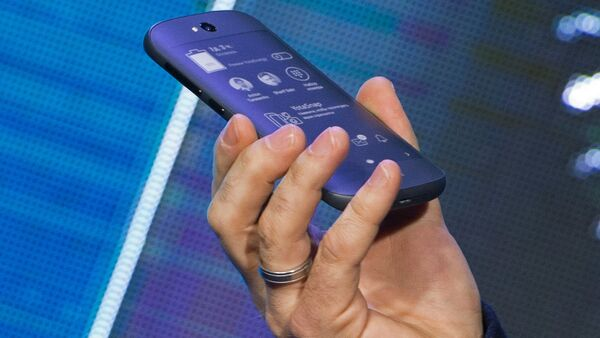 YotaPhone 2 smart phone presented in Russia - Sputnik International