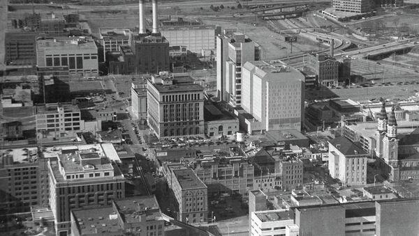 The city of Detroit (the United States of America). - Sputnik International
