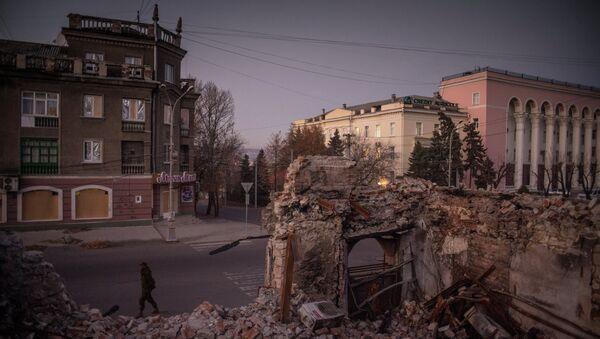 View on Luhansk - Sputnik International