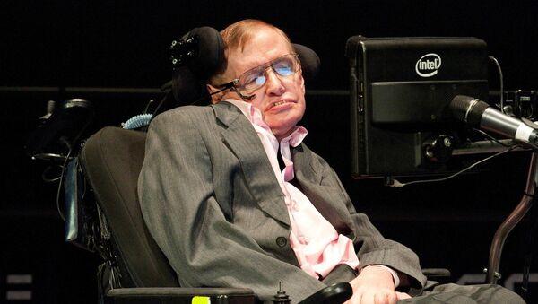Professor Stephen Hawking - Sputnik International