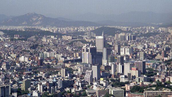 View of Seoul from Namsan mountain - Sputnik International