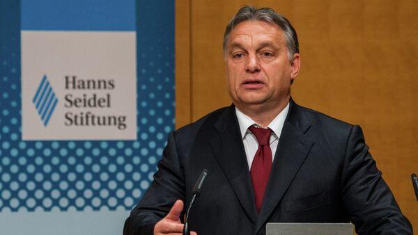 Hungarian Prime Minister Viktor Orban - Sputnik International