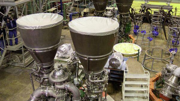 RD-180 rocket engine assembled at Energomash - Sputnik International