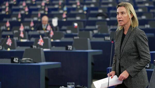 EU foreign policy chief Federica Mogherini - Sputnik International