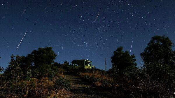 Geminids Meteor Shower in northern hemisphere - Sputnik International