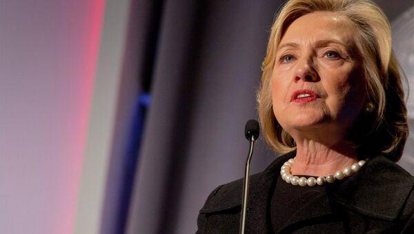 Former U.S. Secretary of State, Hillary Clinton - Sputnik International