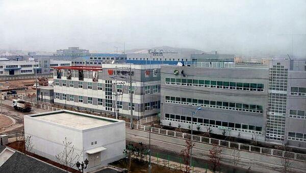 Model Industrial Complex (factories) in Kaesong (Gaesong) Industrial Area, DPRK - Sputnik International