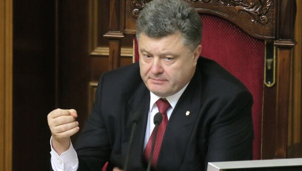 Ukrainian President Petro Poroshenko said Tuesday he will sign a decree, authorizing a new wave of mobilization in the crisis-hit country on January 14, according to a post on his official website. - Sputnik International
