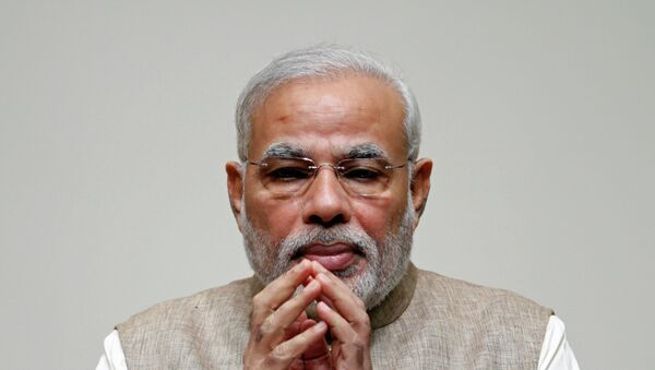 India's Prime Minister Narendra Modi as called a meeting with all the state chief ministers Sunday to discuss the overhaul of the country's Planning Commission - Sputnik International