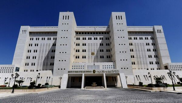 Syrian Foreign Ministry in Damascus - Sputnik International