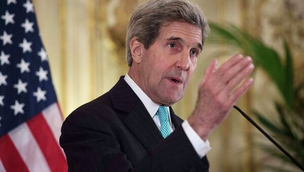 US Secretary of State John Kerry said that US confirmed its commitment to no longer hold its anti-personnel land mines. - Sputnik International