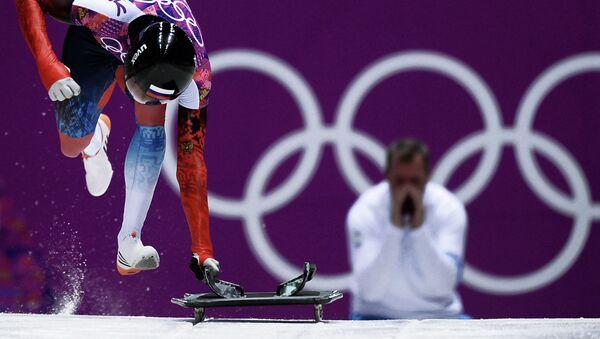 2014 Winter Olympics. Skeleton. Men. Day One - Sputnik International