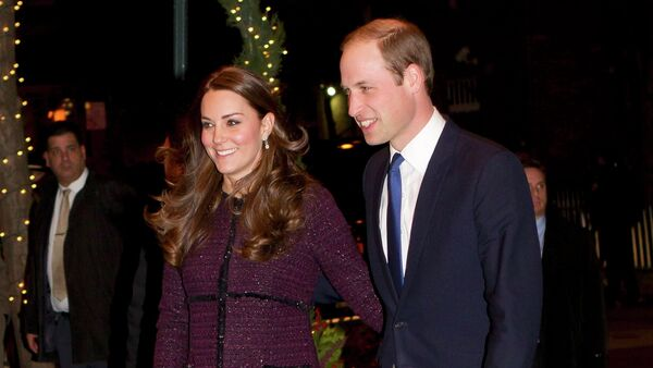 Britain's Prince William, Duke of Cambridge, and his wife Catherine, Duchess of Cambridge, arrive at the Carlyle hotel in New York, December 7, 2014 - Sputnik International