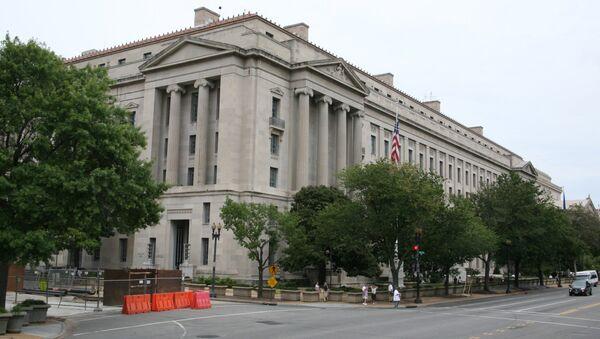 The US Department of Justice (DOJ) - Sputnik International