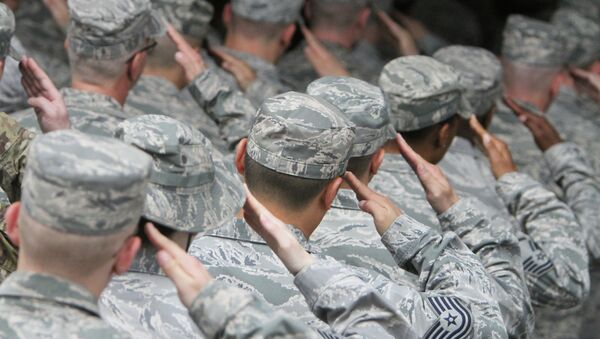 US Air Force servicemen - Sputnik International