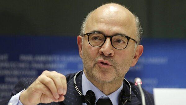 European Commissioner for Economic and Financial Affairs Pierre Moscovici - Sputnik International