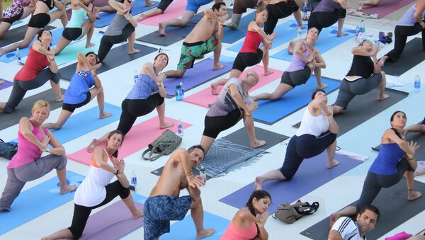 The United Nations General Assembly adopted a resolution on an International Day of Yoga, which will be observed on June 21 every year - Sputnik International