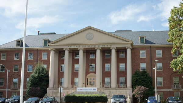 National Institutes of Health James Shannon building on the campus of NIH in Bethesda - Sputnik International