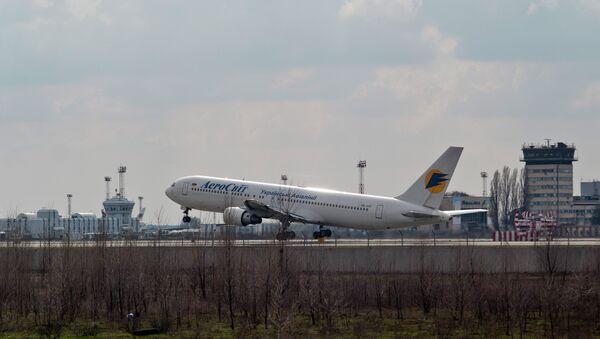 Ukraine's State Aviation Service has banned all flights to Kharkiv, Dnipropetrovsk and Zaporizhia - Sputnik International