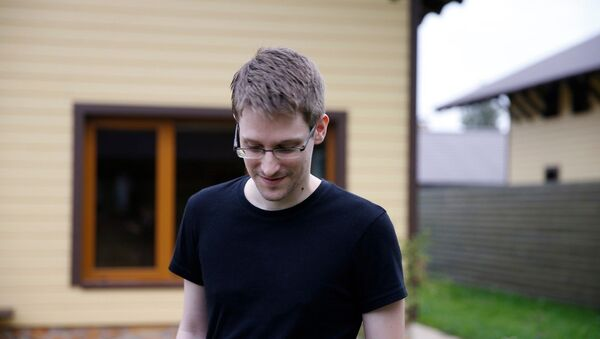 Edward Snowden in Citizenfour (2014) - Sputnik International