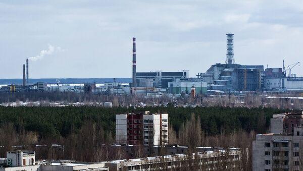 Chernobyl Sarcophagus - Sputnik International