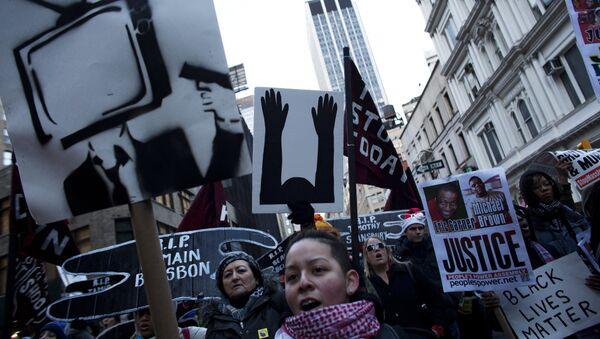 NYC protests - Sputnik International