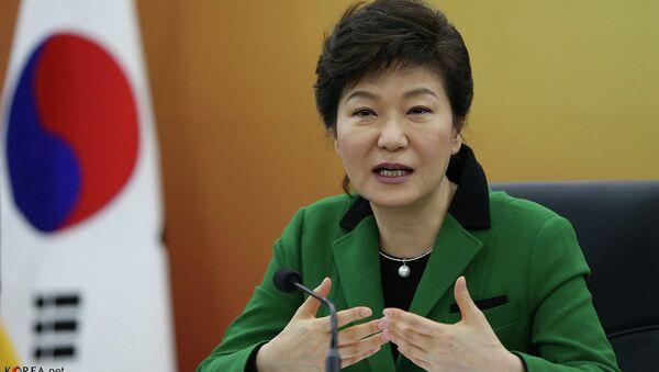 South Korean President Park Geun-hye - Sputnik International