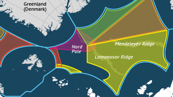 National claims to the Arctic shelf - Sputnik International