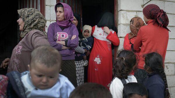 Syrian refugees in Lebanon's Bekaa Valley - Sputnik International